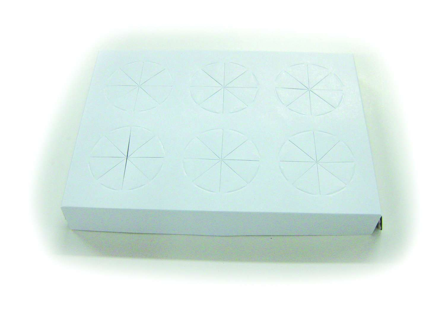 CT-6, 6-pc White Tray
