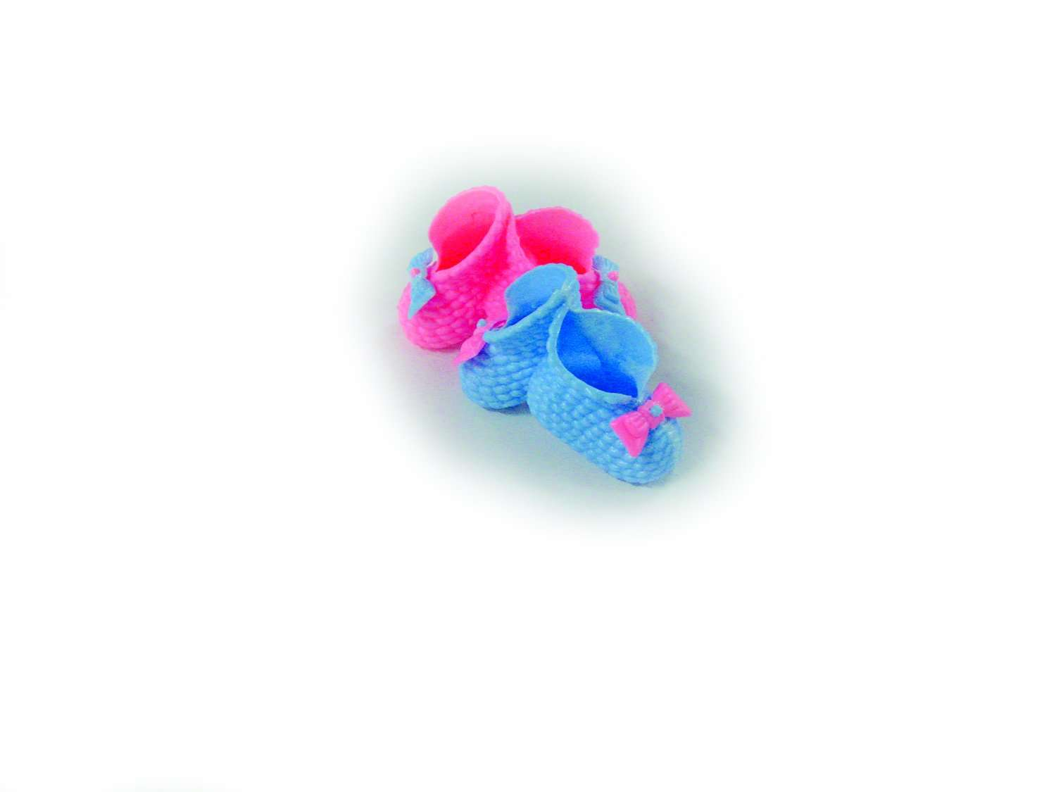 P-Shoe - Plastic Shoe Pink & Blue