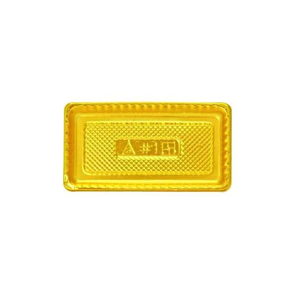PVCG001 Gold PVC Plate