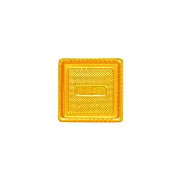 PVCG002 Gold PVC Plate<