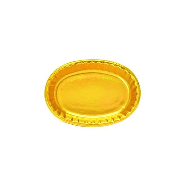 PVCG004 Gold PVC Plate<