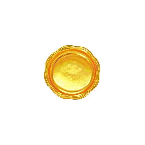 PVCG006 Gold PVC Plate