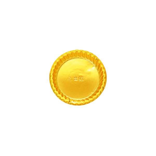 PVCG093 Gold PVC Plate