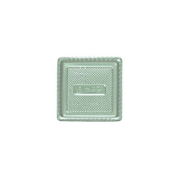 PVCS002 Silver PVC Plate