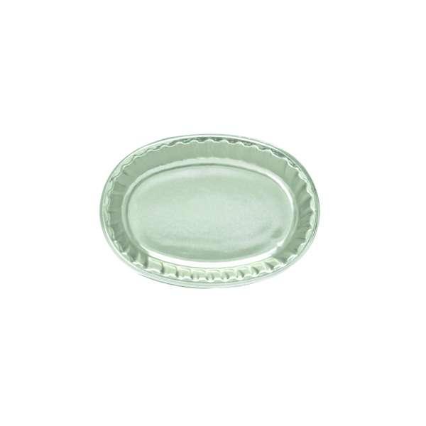 PVCS004 Silver PVC Plate