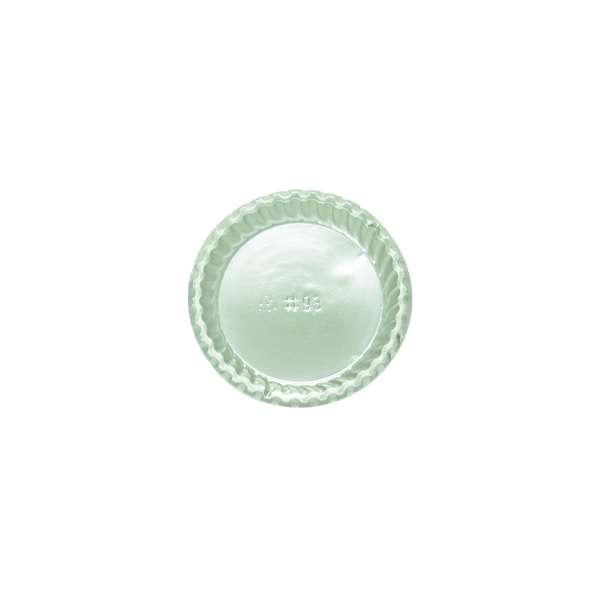PVCS093 Silver PVC Plate